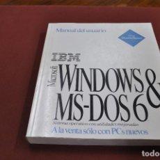 Libros de segunda mano: MICROSOFT WINDOWS MS - DOD 6 MANUAL DEL USUARIO SISTEMA OPERATIVO - TI4. Lote 95693891