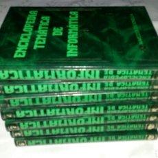 Libros de segunda mano: ENCICLOPEDIA TEMATICA DE LA INFORMATICA - MAVECO ED. - 1987 - (COMPLETA).. Lote 95742446