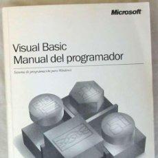 Libros de segunda mano: VISUAL BASIC 5.0 - MANUAL DEL PROGRAMADOR - MICROSOFT 1997 - VER INDICE. Lote 95861503