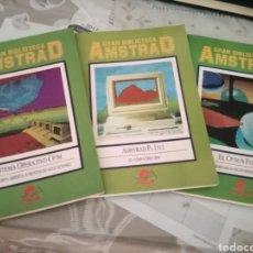 Libros de segunda mano: GRAN BIBLIOTECA AMSTRAD 1986. Lote 95940104