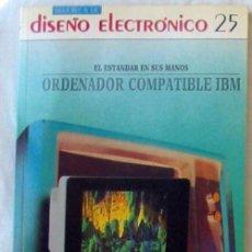 Libros de segunda mano: ORDENADOR COMPATIBLE IBM - BIBLIOTECA DE DISEÑO ELECTRÓNICO - ED. INGELEK 1986 - VER INDICES. Lote 96062467