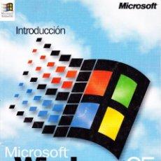 Libri di seconda mano: INTRODUCCIÓN A MICROSOFT WINDOWS 95: PARA EL SISTEMA OPERATIVO MICROSOFT WINDOWS. Lote 97205271