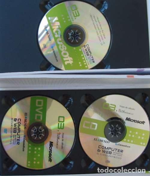 Libros de segunda mano: HOJAS DE CÁLCULO - OFFICE ACCESS 2007 - LIBRO + DVD + 2 CD ROM 2008 - VER INDICE - Foto 2 - 97227759