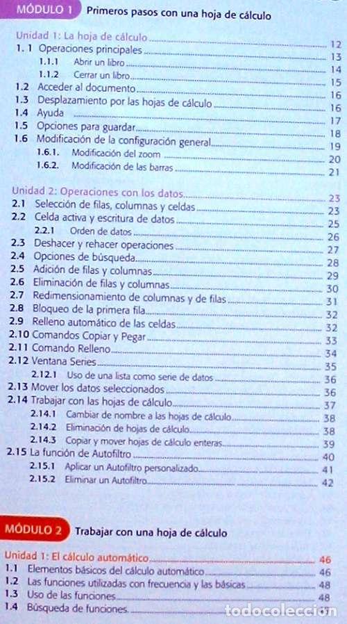 Libros de segunda mano: HOJAS DE CÁLCULO - OFFICE ACCESS 2007 - LIBRO + DVD + 2 CD ROM 2008 - VER INDICE - Foto 3 - 97227759