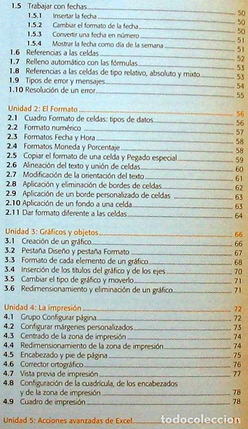 Libros de segunda mano: HOJAS DE CÁLCULO - OFFICE ACCESS 2007 - LIBRO + DVD + 2 CD ROM 2008 - VER INDICE - Foto 4 - 97227759