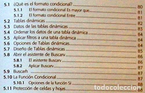 Libros de segunda mano: HOJAS DE CÁLCULO - OFFICE ACCESS 2007 - LIBRO + DVD + 2 CD ROM 2008 - VER INDICE - Foto 5 - 97227759