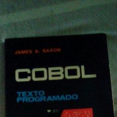 Libros de segunda mano: COBOL TEXTO PROGRAMADO 1969. Lote 97317324