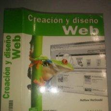 Libros de segunda mano: CREACIÓN Y DISEÑO WEB THE MISSING MANUAL 2010 MATTHEW MACDONALD 1ª EDICIÓN ANAYA MULTIMEDIA 574. Lote 97947031