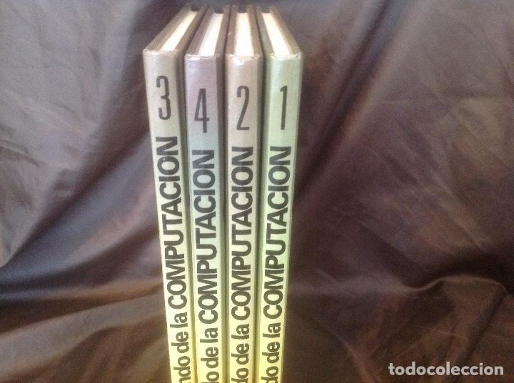 Libros de segunda mano: El Mundo de la Computación Editorial Océano 4 tomos 1988 envio peninsula 4,31€ puntopack - Foto 4 - 97967587