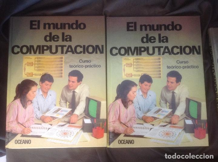 Libros de segunda mano: El Mundo de la Computación Editorial Océano 4 tomos 1988 envio peninsula 4,31€ puntopack - Foto 6 - 97967587