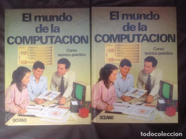 Libros de segunda mano: El Mundo de la Computación Editorial Océano 4 tomos 1988 envio peninsula 4,31€ puntopack - Foto 8 - 97967587