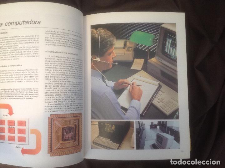 Libros de segunda mano: El Mundo de la Computación Editorial Océano 4 tomos 1988 envio peninsula 4,31€ puntopack - Foto 11 - 97967587