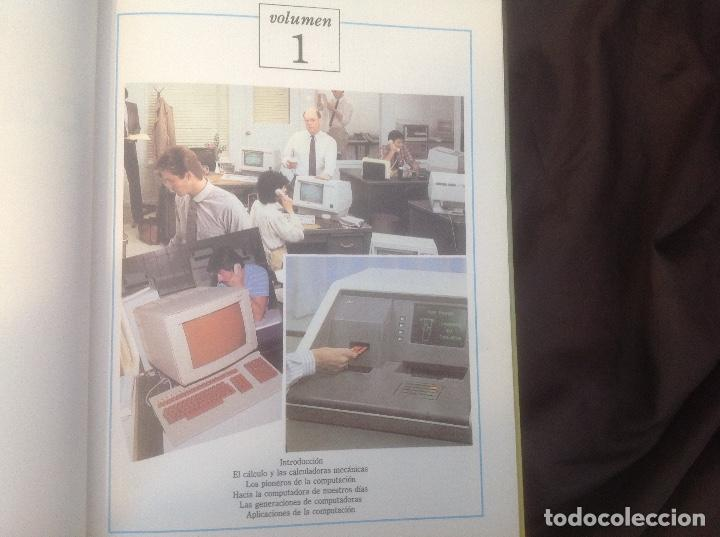Libros de segunda mano: El Mundo de la Computación Editorial Océano 4 tomos 1988 envio peninsula 4,31€ puntopack - Foto 19 - 97967587