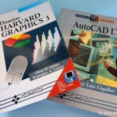 Libros de segunda mano: AUTO CAD LP Y HAVARD GRAPHICS 3. RA-MA #LI-R. Lote 98152859