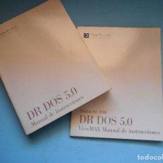 Libros de segunda mano: DR DOS 5.0 MANUAL INSTRUCCIONES. DIGITAL RESEARCH. COMO NUEVO #LI-R. Lote 98153451
