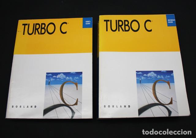 2 LIBROS DE INFORMATICA TURBO C BORLAND, REFERENCE Y USER'S GUIDE 2.0 1988 612 + 425 PAG, EN INGLES (Libros de Segunda Mano - Informática)