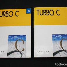 Libros de segunda mano: 2 LIBROS DE INFORMATICA TURBO C BORLAND, REFERENCE Y USER'S GUIDE 2.0 1988 612 + 425 PAG, EN INGLES. Lote 98432011