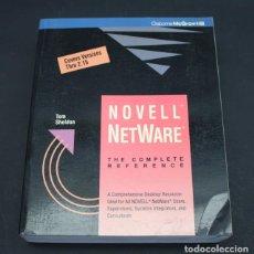 Libros de segunda mano: LIBRO DE INFORMATICA NOVEL NETWARE, TOM SHELDON, OSBORNE MCGRAW HILL 1990 743 PAG EN INGLES. Lote 98432263