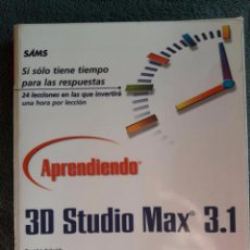 Libros de segunda mano: 3D STUDIO MAX 3.1 / DAVID J. KALWICK / PEARSON EDUCIACIÓN / 1ª EDICIÓN 2001 / FORRADO. Lote 98913923