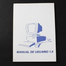 Libros de segunda mano: LIBRO MANUAL DE USUARIO 1.0 ORDENADOR PC 1999 73 PAGINAS WINDOWS 98. Lote 98949723