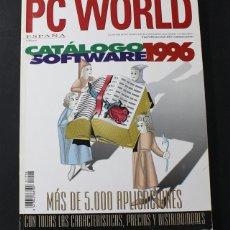 Libros de segunda mano: PC WORD CATALOGO SOFTWAE 1996, +5000 APLICACIONES CARACTERISTICAS Y PRECIOS 546 PAGINAS. Lote 100571083