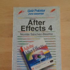 Libros de segunda mano: AFTER EFFECTS 4. Lote 101530099