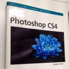Libros de segunda mano: PHOTOSHOP CS4 ADOBE LIBRO OFICIAL + CD-ROM - LIBRO DISEÑO GRÁFICO FOTOGRAFÍA.. Lote 102118631