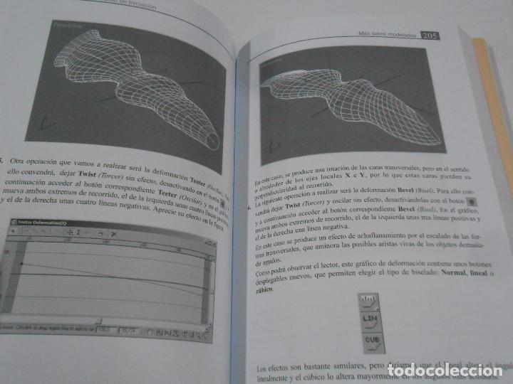 Libros de segunda mano: 3 DS MAX 8. CURSO DE INICIACION. JOSEP MOLERO. VERSION 7. INFORBOOK'S. TDK216 - Foto 2 - 102427359