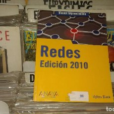 Libros de segunda mano: REDES. EDICIÓN 2010 LIBRO DE UYLESS D. BLACK. Lote 103667987
