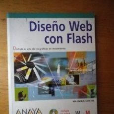 Libros de segunda mano: DISEÑO WEB CON FLAHS ANAYA DISEÑO Y CREATIVIDAD. Lote 103844499