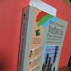 Libros de segunda mano: MANUAL FUNDAMENTAL WORD PERFECT 6.0A PARA WINDOWS. PEÑA TRESANCOS, J.VIDAL FERNÁNDEZ,Mª C. ED. ANAYA. Lote 104347139