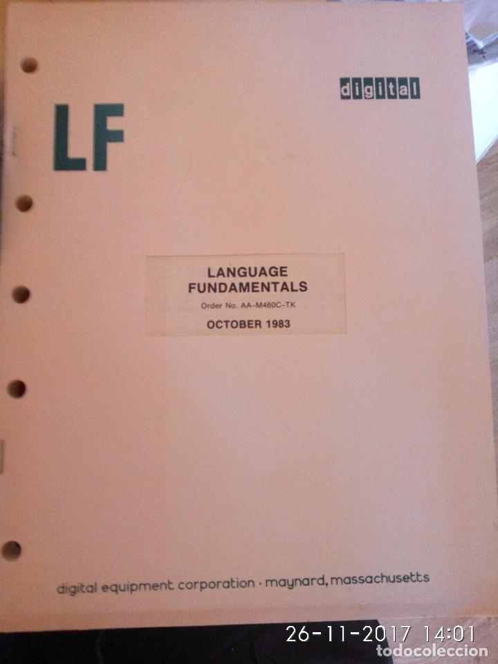 LANGUAGE FUNDAMENTALS - DIGITAL (Libros de Segunda Mano - Informática)
