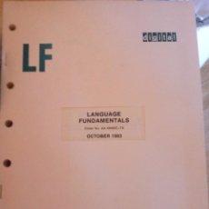 Libros de segunda mano: LANGUAGE FUNDAMENTALS - DIGITAL. Lote 104512259