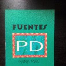 Libros de segunda mano: FUENTES PD PARA MAC ELIZABETH CASTRO PÁGINA UNO S.L. . Lote 104761767