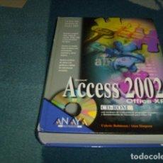 Libros de segunda mano: ACCESS 2002 ANAYA. Lote 104882327