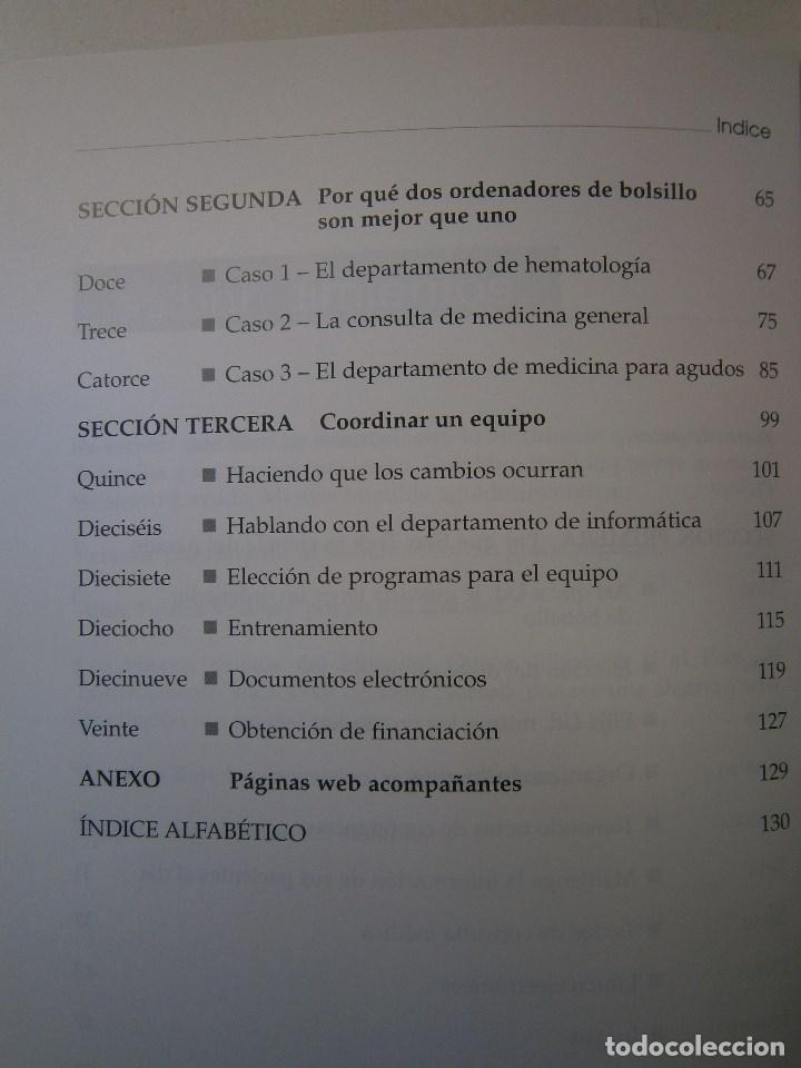 Libros de segunda mano: ORDENADORES DE BOLSILLO PARA MEDICOS AL UBAYDLI BLATT MEDIC 2004 - Foto 8 - 105764959