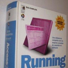 Libros de segunda mano: RUNNING MICROSOFT ACCESS2000 - JOHN VIESCAS - INCLUYE CD-ROM *. Lote 105839447