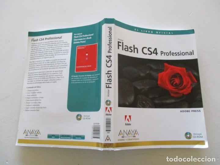 FLASH CS4 PROFESSIONAL. EL LIBRO OFICIAL. RMT84962. (Libros de Segunda Mano - Informática)