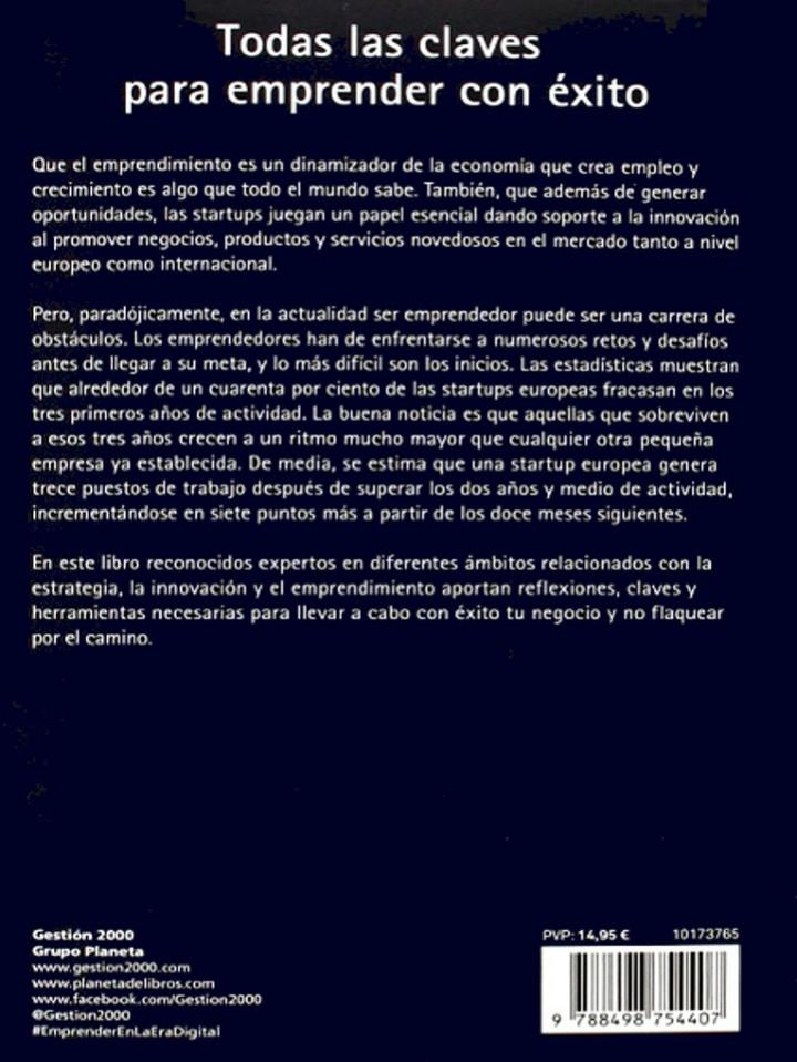 Libros de segunda mano: EMPRENDER en la era DIGITAL, Romero,Juanma. Oliván, Luis. 1 ª ed. 2017 - Foto 7 - 103641479