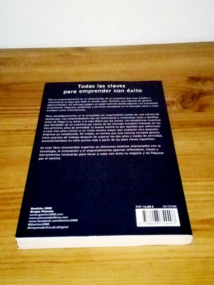 Libros de segunda mano: EMPRENDER en la era DIGITAL, Romero,Juanma. Oliván, Luis. 1 ª ed. 2017 - Foto 6 - 103641479