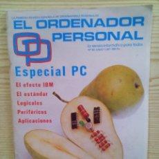 Libros de segunda mano: REVISTA EL ORDENADOR PERSONAL - NUMERO 60. Lote 107010939