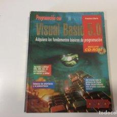 Libros de segunda mano: PROGRAMACION CON VISUAL BASIC 5.0 ( NO CONTIENE CD ) -ED. ANAYA 1997. Lote 107028911