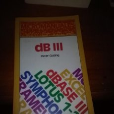 Libros de segunda mano - DB III. MICROMANUALES. PETER GOSLING. EST11B5 - 107445375