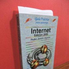 Libros de segunda mano: INTERNET EDICIÓN 2005. JAREÑO ALGOBIA, PEDRO. ED. ANAYA. MADRID 2006. 3ª REIMPRESIÓN. Lote 107476035