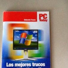 Libros de segunda mano: LOS MEJORES TRUCOS PARA OFFICE Y WINDOWS XP PC TODAY COLECCIÓN TRUCOS CUADERNILLO 98 PGS. Lote 108909435