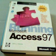 Libros de segunda mano: MICROSOFT ACCESS 97. EDICION ESPECIAL.- JOHN L. VIESCAS. (INCLUYE CD). Lote 109079419