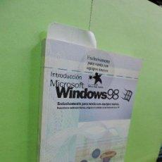 Libros de segunda mano: INTRODUCCIÓN MICROSOFT WINDOWS 98. . Lote 109709815