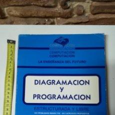 Libros de segunda mano: DIAGRAMACION Y PROGRAMACION. Lote 110083052