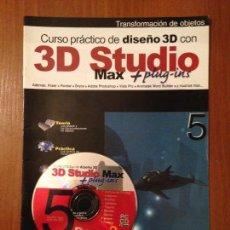 Libros de segunda mano: 3D STUDIO MAX - #5 + CD. Lote 110640759