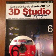Libros de segunda mano: 3D STUDIO MAX - #6 + CD. Lote 110640823